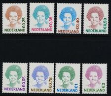 Netherlands 1091-4,8,1102-4 MNH Queen Beatrix