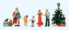 PREISER Exklusivserie 1:87/H0 Figurensatz, Frohe Weihnachten (5 Figuren) #10652
