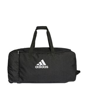 adidas Tiro Trolley Sporttasche mit Rollen Rollentasche Größe XL schwarz DS8875