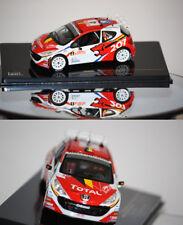 Ixo Peugeot 207 S2000 Rally Monte Carlo 2009 F. Loix 1/43 RAM363