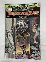 (Lot Of 2) Dragonslayer #1 (Oct 1981, Marvel) And Dragonslayer #2 (Nov 1981)