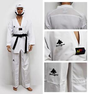 Fighter Taekwondo Dobok Ultralight 100% Poyester Kampfanzug WT Taekwondo Uniform