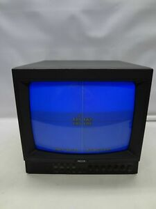 "Vintage Pelco PMCQ14A 14"" Color CRT Video Monitor"
