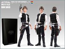Medicom / Sideshow Star Wars Episode IV Han Solo 12-inch 1/6 Figure (RARE)