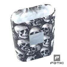 #20 Silikon Schutzhülle Totenkopf - Skull in weiß für SMOK AL85