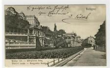 AK Budapest, Királyi vár, Kgl. Burg, Várkert bazár