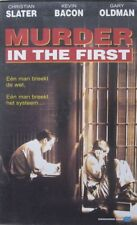 MURDER IN THE FIRST - VHS