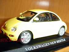 VOLKSWAGEN NEW BEETLE YELLOW 1:43 MINT CONDITION!!!