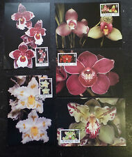 Jersey 1988 Orchids Maximum Cards
