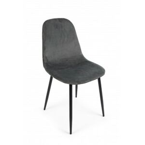 Chair Irelia IN Velvet,Various Colors,Packaging From 4 Pieces