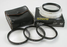 LOT OF FOUR 52MM FILTERS, CLOSE UP SET +1, +2, +3 AND UV/174102