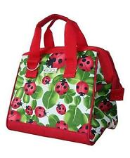 Sachi Insulated Lunch Tote Bag 2 Pocket Lady Bug