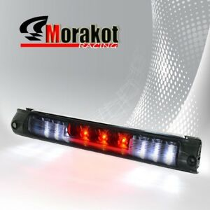 97-03 Ford F150 Third 3rd Brake light LED Signal Stop Lamp Car Unit Black Smoke