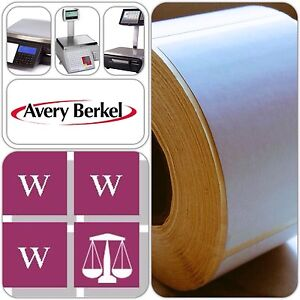 Avery Berkel Thermal Scale Labels - 58mm x 76mm, 36 Rolls, 18,000 Labels