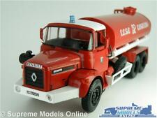RENAULT GBH 280 FIRE ENGINE MODEL TRUCK 1:43 SCALE IXO CCGC CANJUERS FRANCE K8