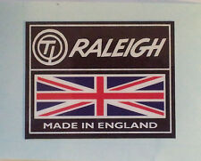 "Raleigh Chopper,Grifter,bike frame ""TI RALEIGH MADE IN ENGLAND"" Sticker/Decal"