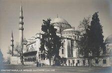 RPPC,Constantinople,Turkey,Suleymaniye Mosque,c.1909