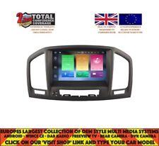 AUTORADIO Noir DVD GPS Navi BT ANDROID 8.0 4 Go DAB VAUXHALL OPEL INSIGNIA V5753