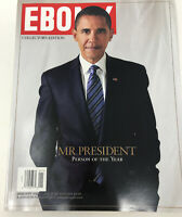 BARACK OBAMA January 2009 EBONY Magazine NEW