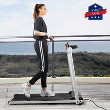 Folding Treadmill Electric Motorized Power 2.0 HP Running Machine Home Gym LCD