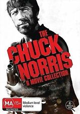 Chuck Norris 6 Movie Collection Boxset DVD Region 4 (New & Sealed)