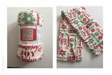 Holiday Time Plush Throw Christmas All Over Print 50 x 60 inches Blanket