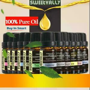 Natural Essential Oils 10ml Aromatherapy Pure Essential Oil Fragrances Diffuse