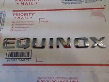 "Chevy Equinox 2016-17 (small Equinox wording) rear hatch ""Emblem"""