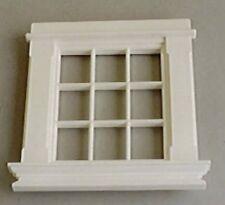 Georgian 9 Pane Window, Dolls House Miniatures, 1.12 Scale DIY Accessory