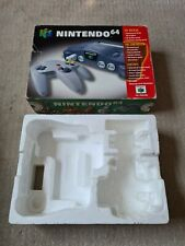 Nintendo 64 Console Box & Polystyrene ONLY - PAL - N64