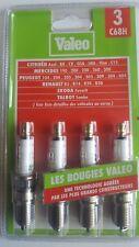 4 bougies allumage  VALEO C68H RENAULT 5 ALPINE