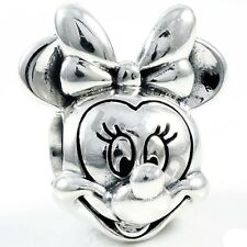 Hot Minnie European charms bead For sterling 925 silver Bracelets Bangles A961