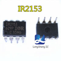 10PCS IR2153 DIP SELF-OSCILLATI​NG HALF-BRIDGE DRIVER NEW