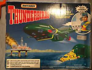 Thunderbirds Thunderbird 2+4 Matchbox Mint in Box RARE 1992 big size