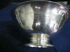 INDIAN HARBOR YACHT CLUB 1927 TROPHY BOWL...STERLING SILVER by GORHAM STANDISH