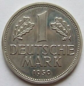 Top! 1 DM 1950 D IN Proof Only 700 Minted