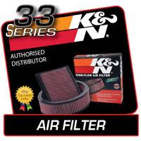 33-2333 K&N High Flow Air Filter fits RANGE ROVER SPORT 3.6 V8 Diesel 2006-2010