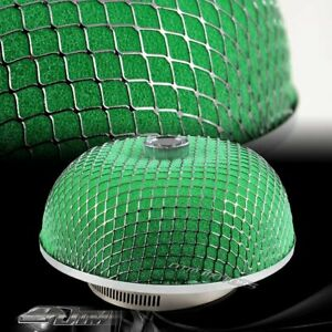 Universal Micro Foam 3 Inch Outlet Mushroom Cold Air Intake Turbo Filter Green