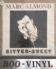 "Marc Almond Bitter Sweet - Clear Vinyl UK 7"" vinyl single record RC6194 Ex+"