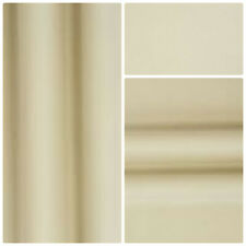 "Blackout Thermal Soft Ivory Curtain Lining Fabric Pass 3 , 54"" wide"
