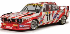 MINICHAMPS 1:18 BMW 3.0 CSL LUIGI RACING UFO LE MANS 1977