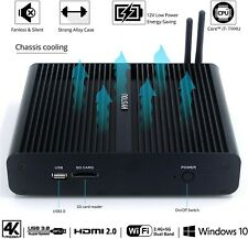 Mini PC Ordinateur Intel Core i7 7500u 3,5 GHz WiFi DDR4 4GB 128GB SSD