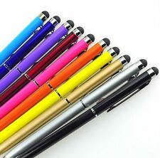 Lot 1pcs 2 In1 Touch Screen Stylus Ballpoint Pen For Cell Phone Tablet Android