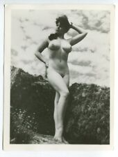 "Lorraine Burnett  By Harrison Marks 6"" x 4"" 1950 Original Nude Photo  B8125"