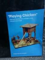 Jaguar Playing Chicken WWII German Infantry 1:35 Scale Resin Model Kit Diorama