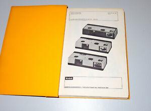 Kodak Ersatzteilliste spare parts list. Instamatic Kameras Camera, Dia-Projektor