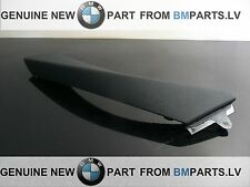 NEW BMW E90 E91 DOOR CARD INTERIOR HANDLE PULL CLASP TRIM BLACK RIGHT 9150336