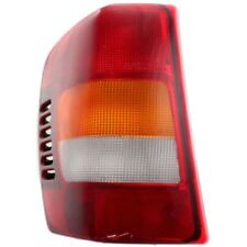 For Grand Cherokee 02-04, Driver Side Tail Light, Amber, Clear and Red Lens