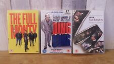 3x DVD,comedy,Alan Carr That's what I Call a Ding Dong, The Full Monty, Extras