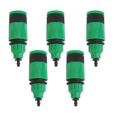 Water Tubing Pipe Adapters Connector Garden Hose Patio Drip Irrigation System 5X